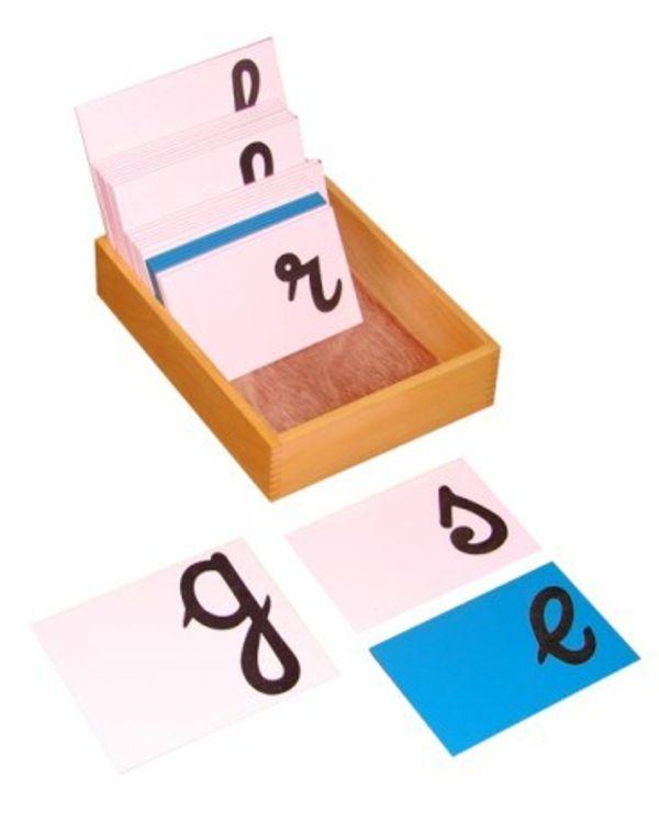 Sandpaper Letters Cursive