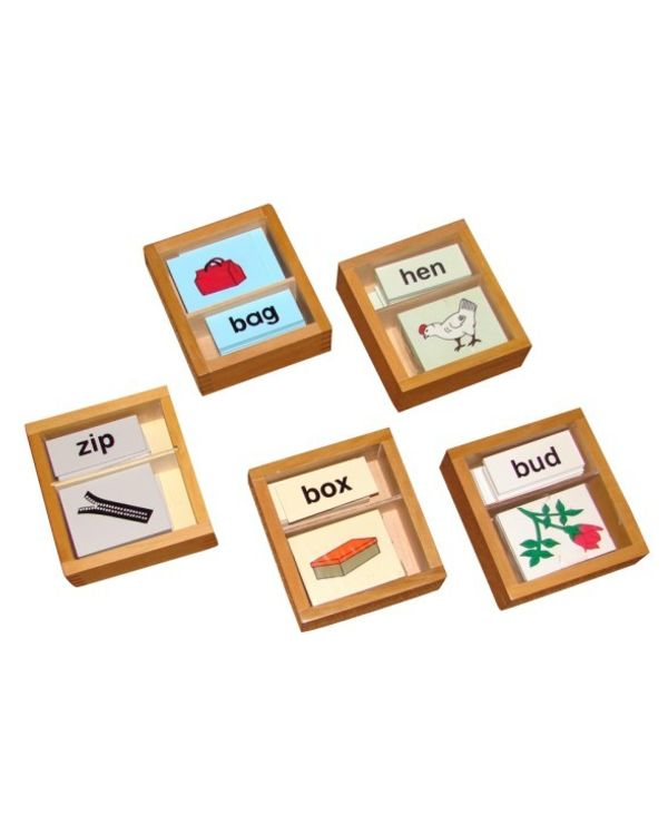 Vowel Boxes Print (2 Part Cards)