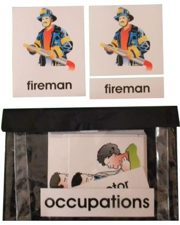 3 Part Nomenclature Cards: Occupations