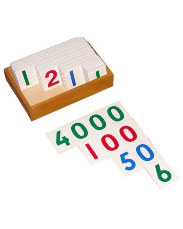 Number Cards 1 to 9000
