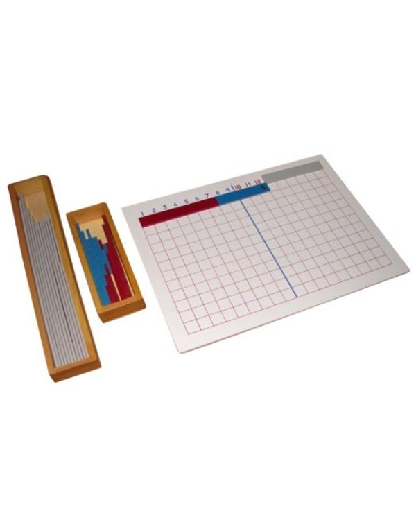 Subtraction Strip Board incl strips tray