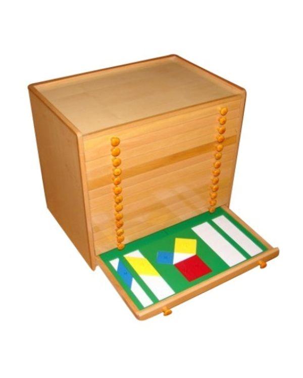 Elementary Geometric Cabinet Metal
