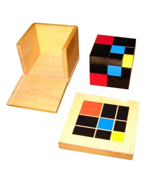 Trinomial Cubes