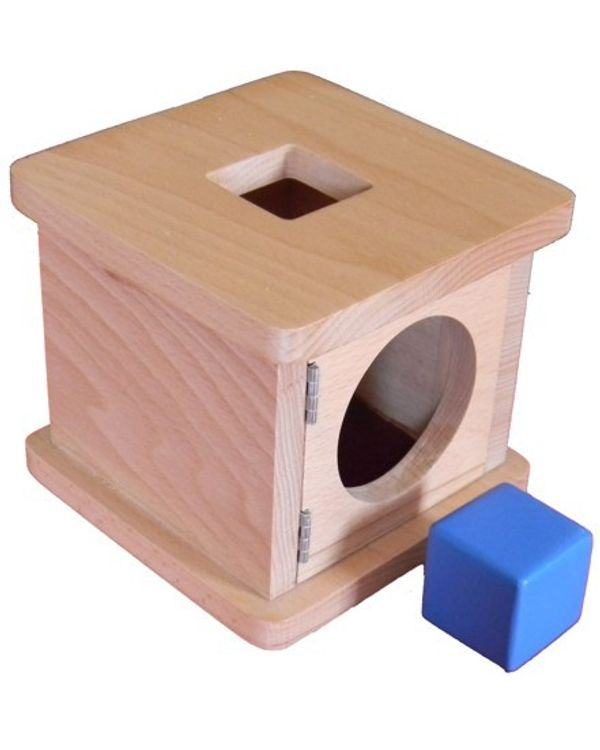 Infant Imbucare box with cube