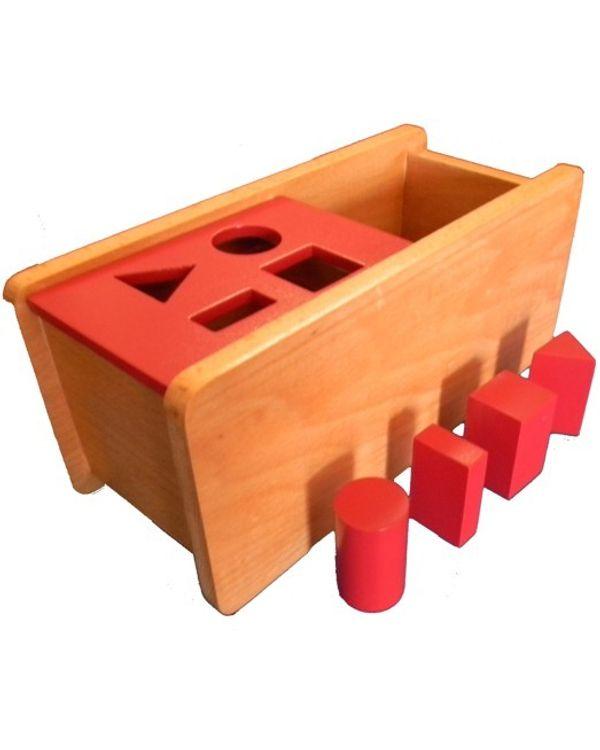 Imbucare box with flip lid - 4 shapes