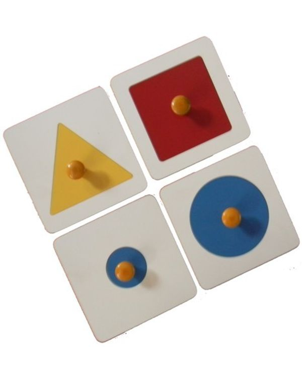 Single Shape Puzzle Set: Set of 4