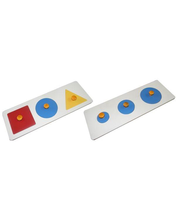 Multiple Shape Puzzle (Set of 2)