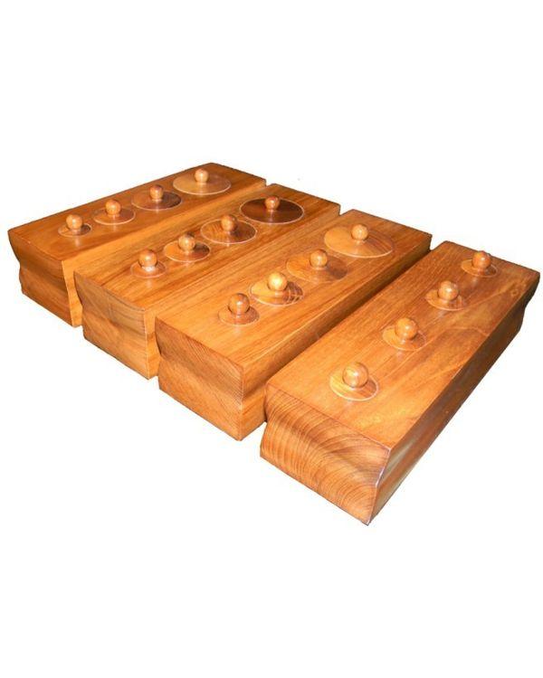 Toddler Cylinder Blocks: Set of 4