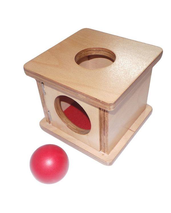 Infant Imbucare box with sphere