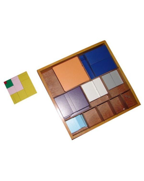 Decanomial Squares