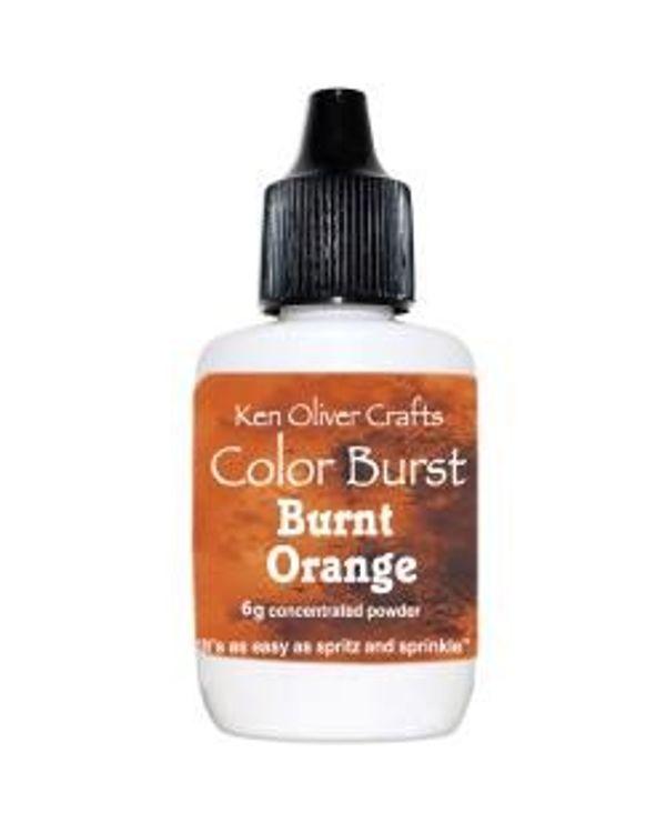 Ken Oliver Color Burst Powder 6gm - Burnt Orange