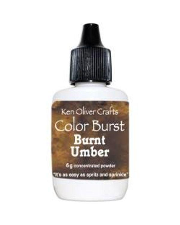 Ken Oliver Color Burst Powder 6gm - Burnt Umber