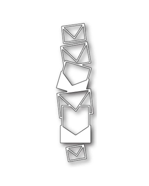 Memory Box Poppystamp Die - Mail Stack