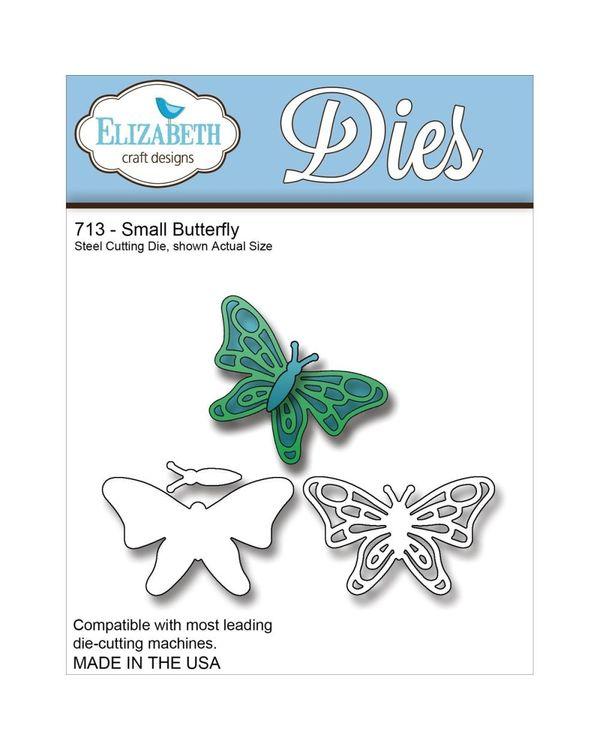 Elizabeth Craft Metal Die - Small Butterfly
