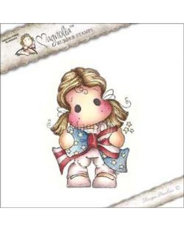 4th Of July & Graduation Cling Stamp 3.75