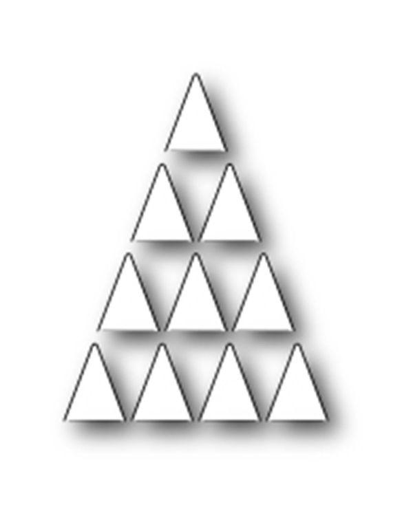 Memory Box Die - Folding Tree