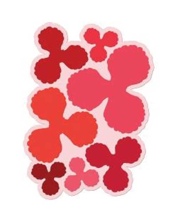 Heartfelt Creations Cut & Emboss Dies - Blazing Poppy 3.75