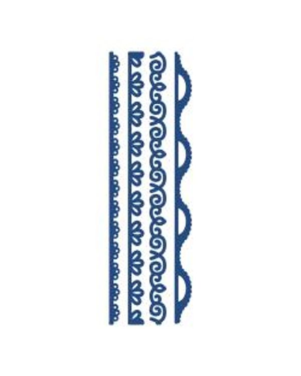 Tattered Lace Metal Die - Scallop Delight Borders