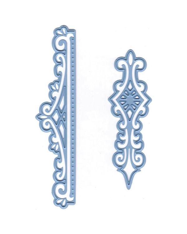 Marianne Design Creatables Dies (Anja's Vintage 2 Ornaments, Up To 3.875