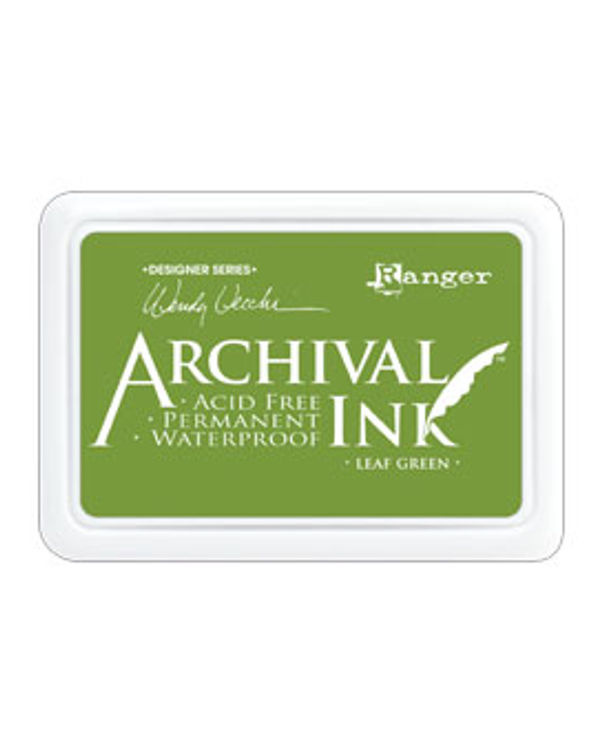 Archival Ink Designer Series: Wendy Vecchi - Leaf Green