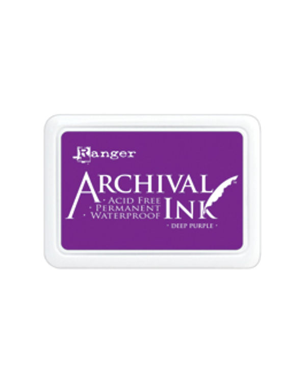 Archival Ink #0 Pads - Deep Purple