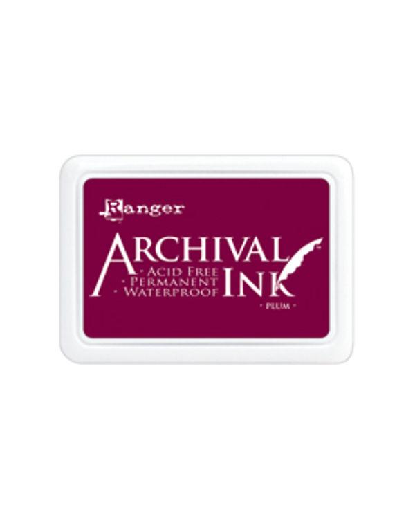 Archival Ink #0 Pads - Plum