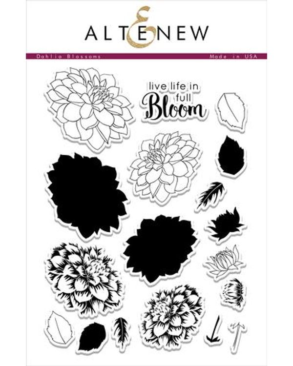 Altenew - Dahlia Blossoms Clear Stamp