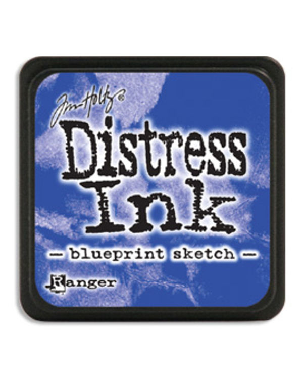 Tim Holtz Mini Distress Ink Pads - Blueprint Sketch