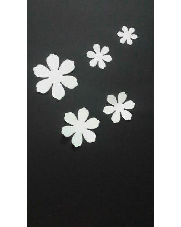 Kraftzone - Premium Die Cuts -Flower play - Pattern #275(5 pcs)