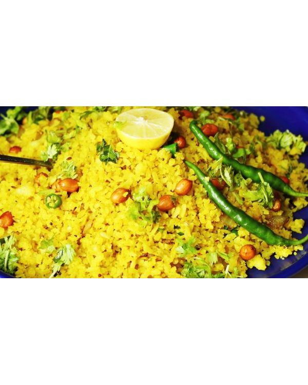 Instant Lime Avalakki / Poha