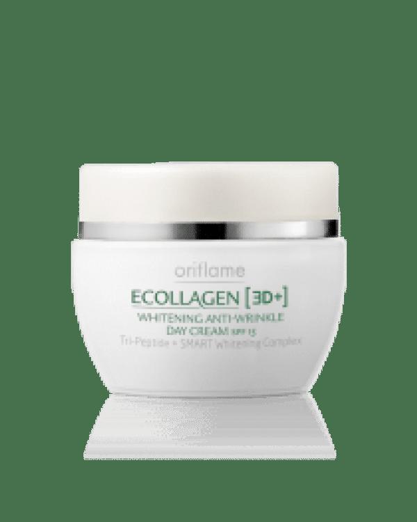 Oriflame Ecollagen 3D+ Whitening Anti-Wrinkle Day Cream