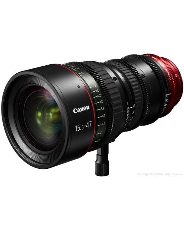 Canon Cine CN-E15.5-47mm T2.8 L SP