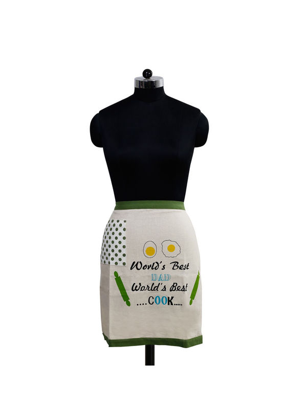 World's Best Dad Bistro Apron (Pack of 1) by Fun Club