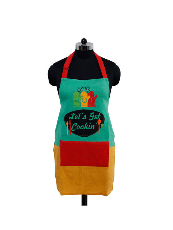 Let's Get Cookin Apron (Pack of 1) by Fun Club