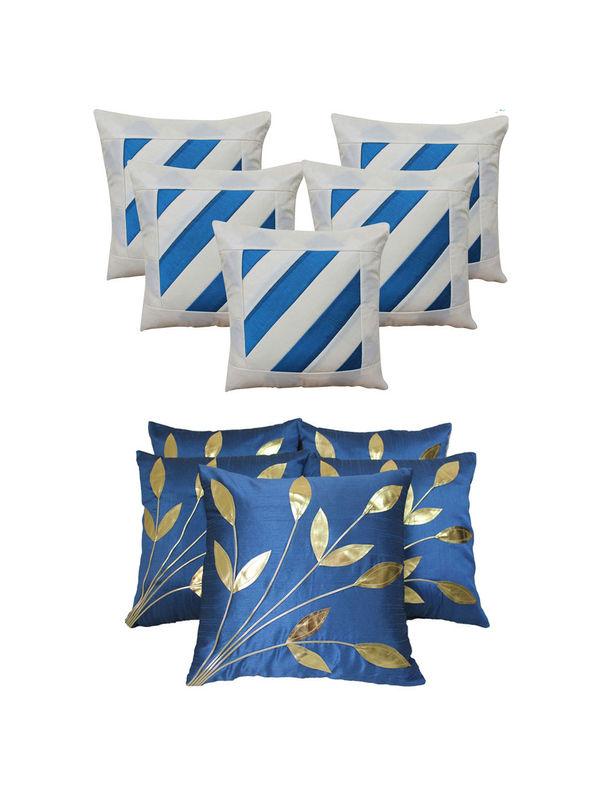 Dekor World Leaf Bonanza Cushion Cover