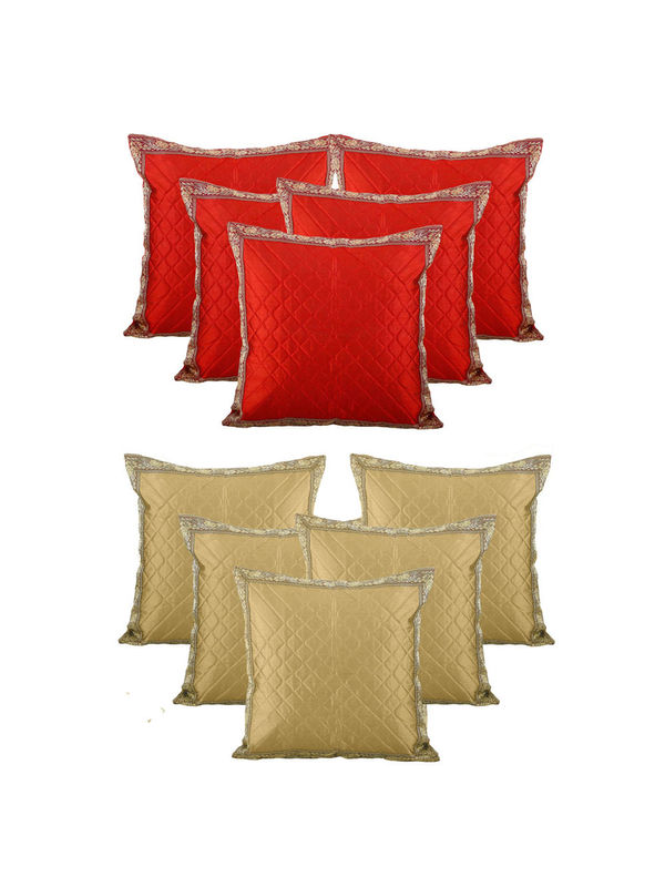 Dekor World Traditional  Combo. Cushion Cover (Buy5Get5)