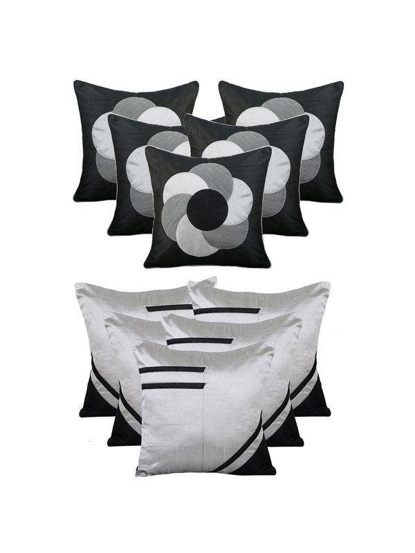 Dekor World Circular Bonanza Combo. Cushion Cover (Buy5Get5)