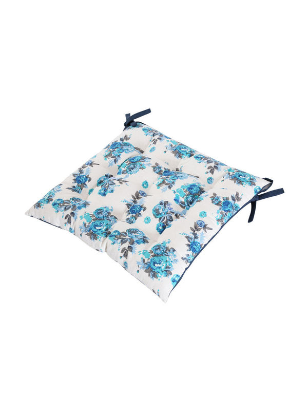 Cotton Printed Chair Pad by Dekor World  (MORE COLOR)