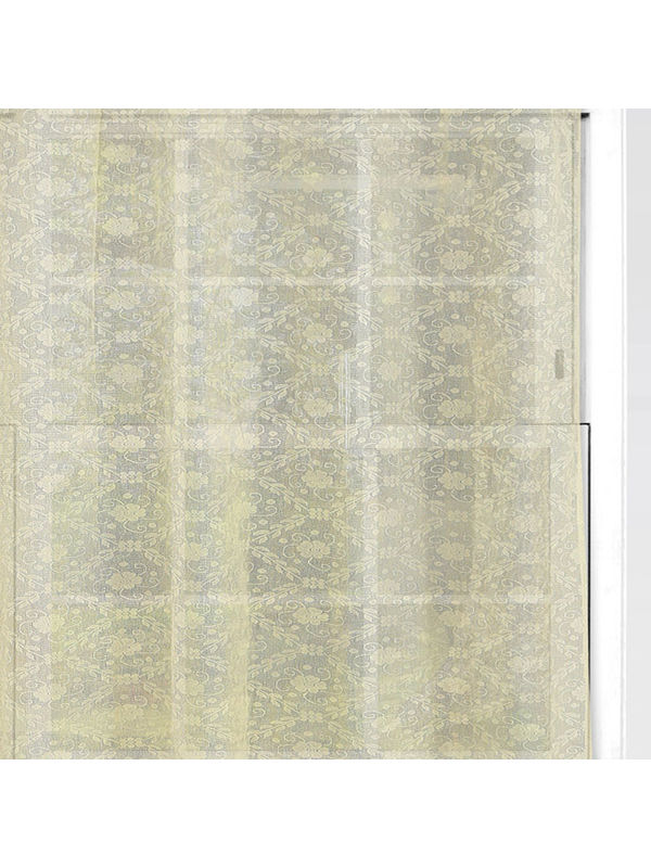 Beige Cotton Net Fabric by Dekor World  (MORE COLOR)