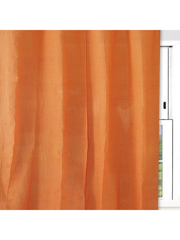 Gold Dot Orange Cotton Fabric by Dekor World  (MORE COLOR)