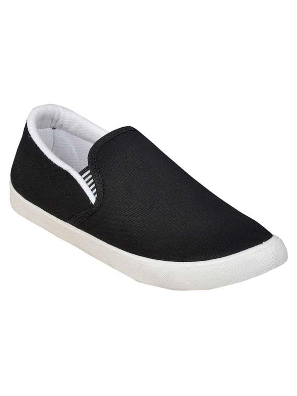 0f9a1c080 Delux Look Black Canvas Shoes
