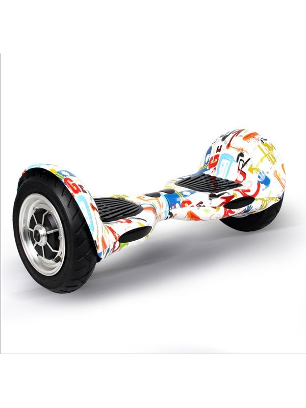 Cloud Surfer Hoverboard 10 Inch Multi Color with Bluetooth Speaker and Remote
