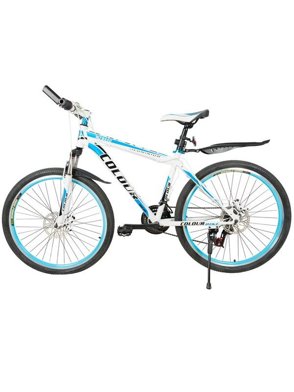 COLOUR 650 Mountain Bicycle with High carbon steel frame and 26\'\' wheels