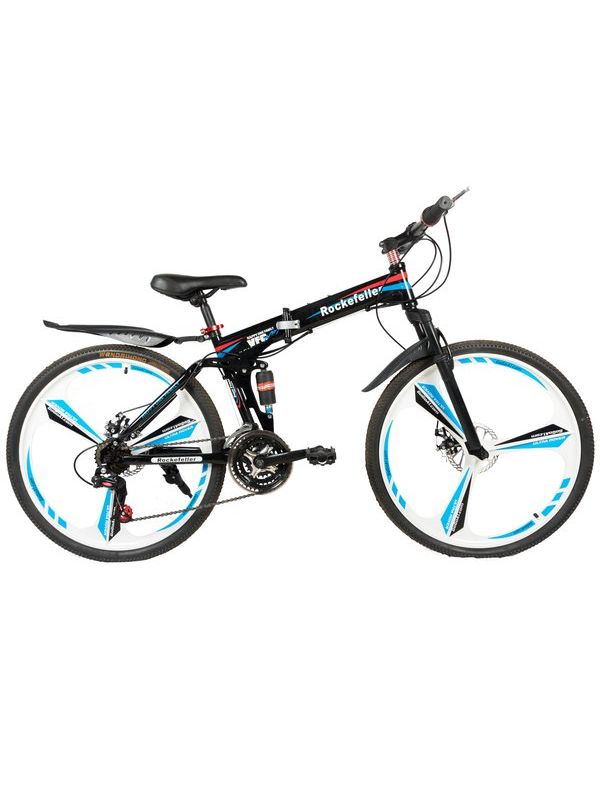 Rockefeller Folding Mountain bicycle with 26'' magnesium alloy wheels