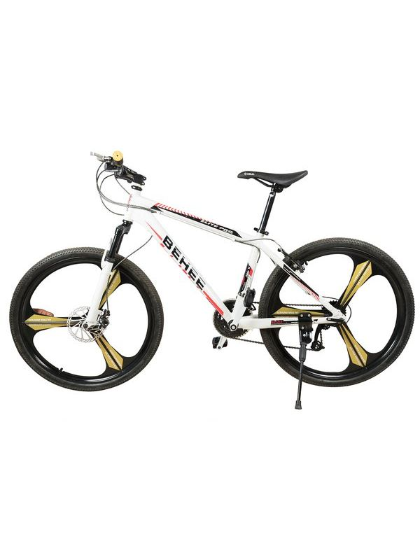 BEHEE Mountain Bicycle with Aluminum frame and 26'' Magnesium wheels