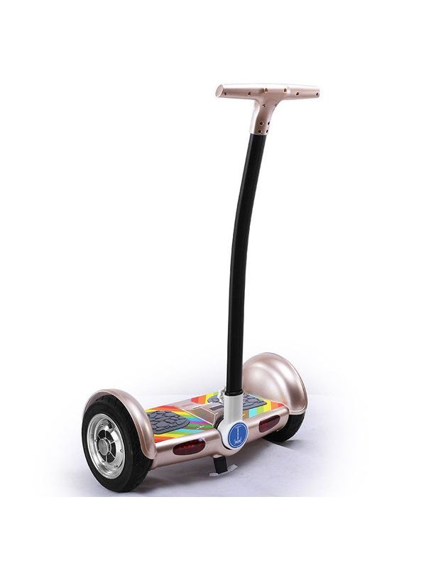 Cloud Surfer Self Balancing Electric Scooter 10 Inch With Handle Golden