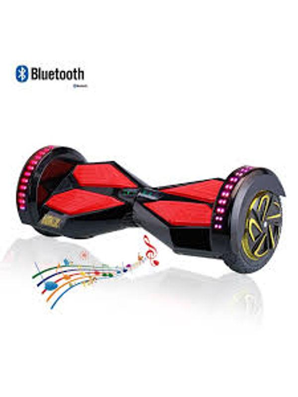 Cloud Surfer 8 Inch Hoverboard Wheel Samsung Battery With Bluetooth Speaker And Remote