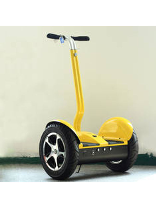 Cloud Surfer Self Balancing Scooter City Model Yellow