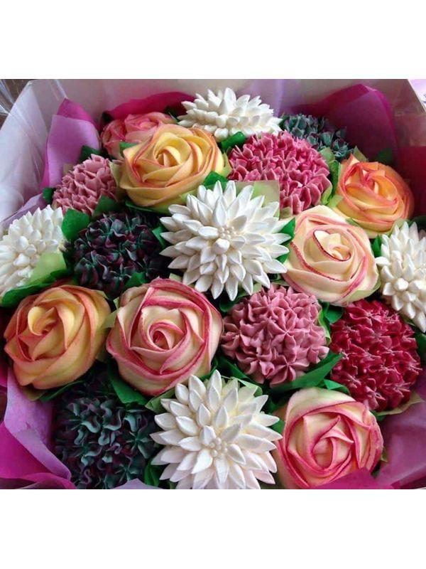 Cupcake Bouquet (8-9 cupcakes)