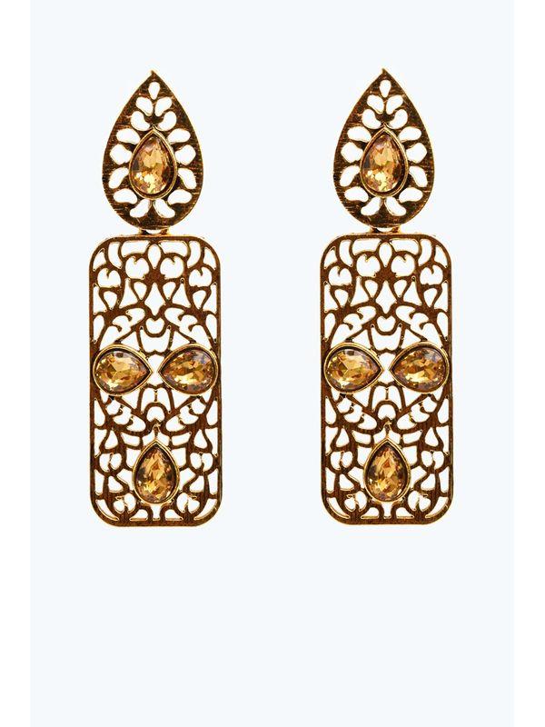 Golden Bronze Danglers